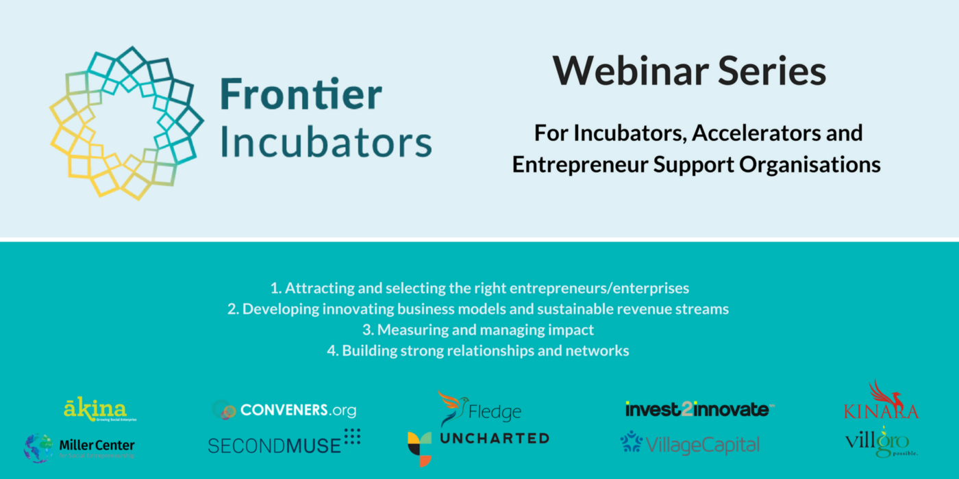 Attracting and selecting the right entrepreneurs for your incubator or accelerator program.
