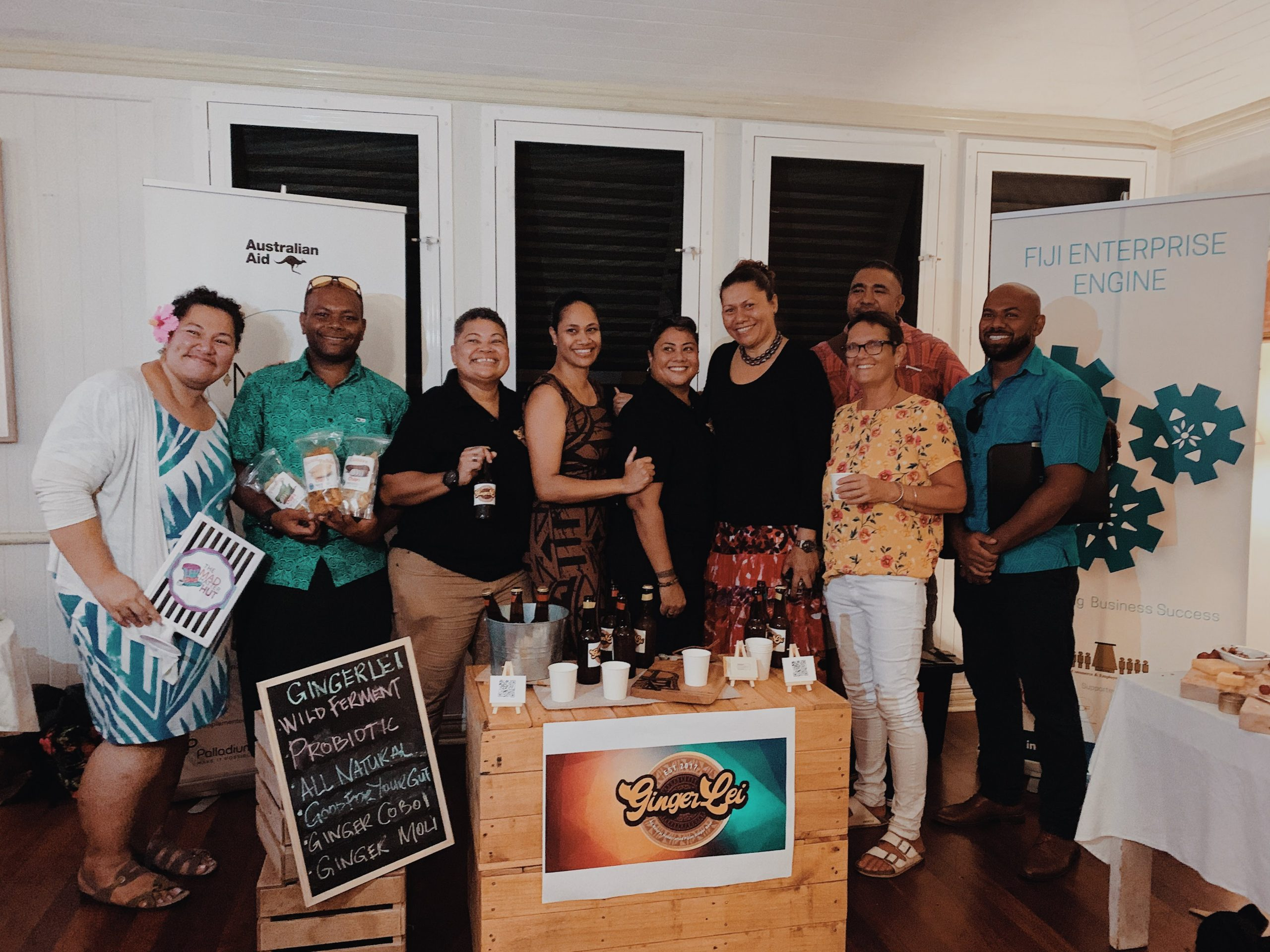 Growing a strong social enterprise team in the Pacific
